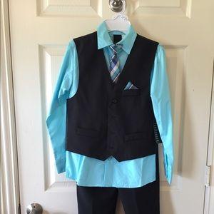 Boys Size 12 Vest Set